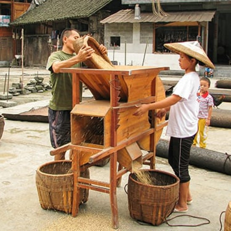 Chase | China - A0808 Milling rice removes the hull