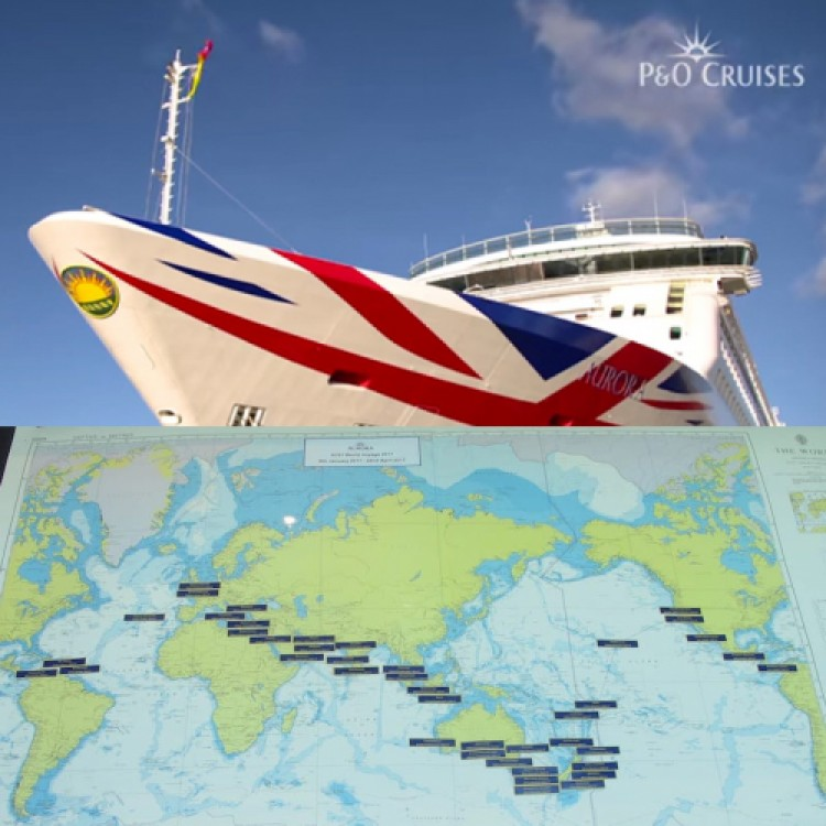 Circumnavigating the Globe January 9 though April 22