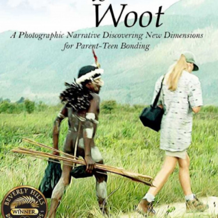 Walking to Woot Wins FAPA Medal for Cover Design